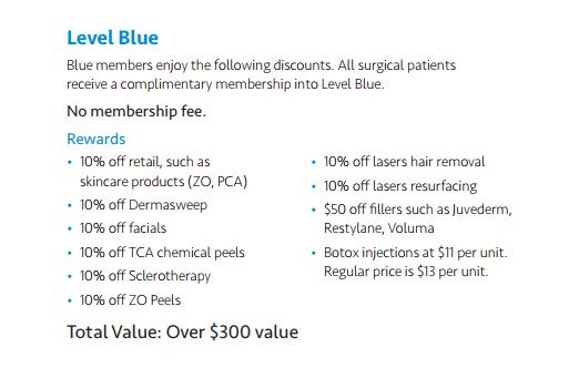 loyalty program level blue